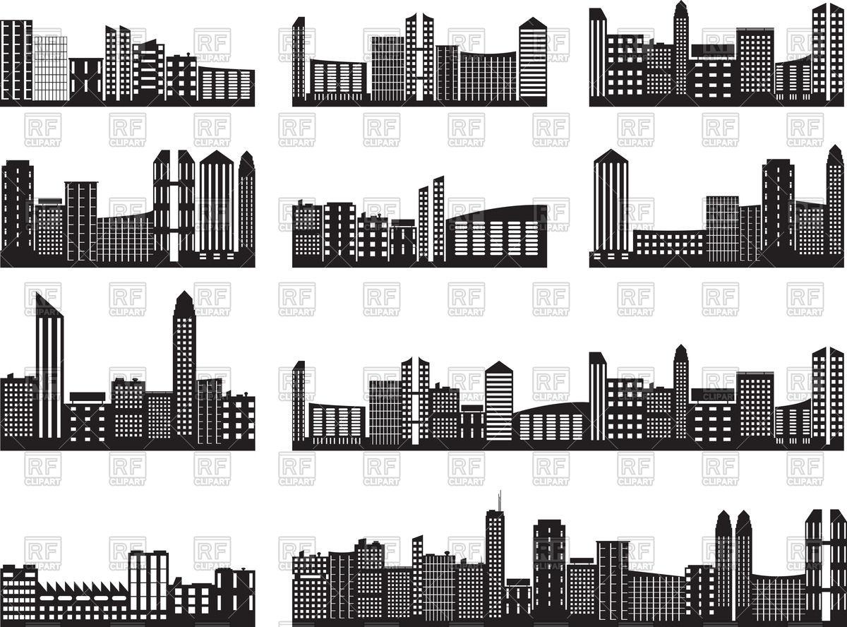 1200x888 Cityscape Silhouette