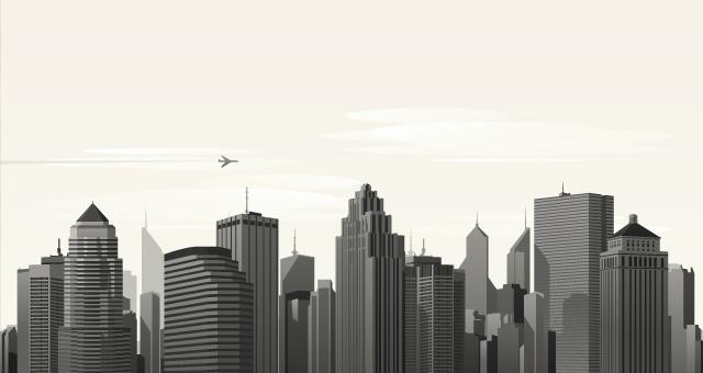 640x340 Vector City Skyline Vol1 Decorative Vectors Pixeden