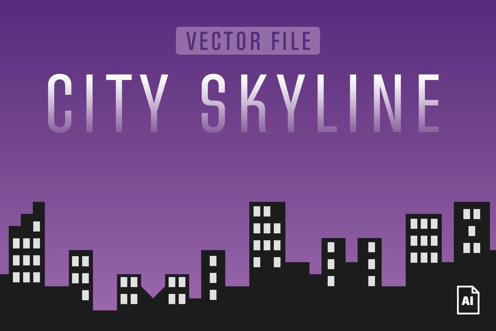 1000x667 City Skyline