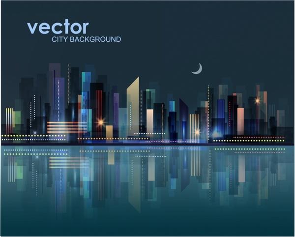 600x482 City Landscape Free Vector In Adobe Illustrator Ai ( .ai
