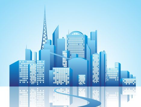 468x357 Cities Vectors And Grid With Buildings Images Background Ci