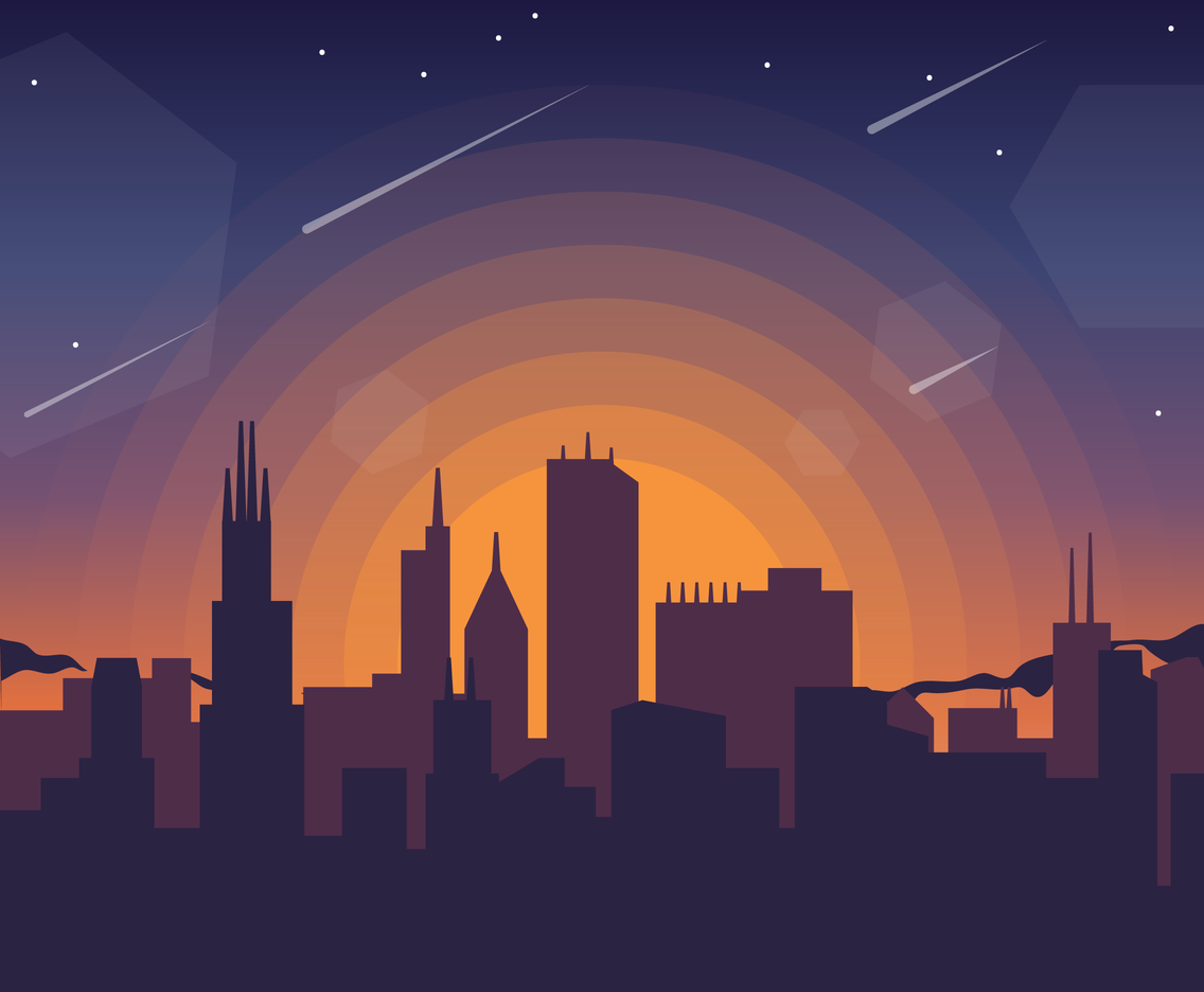 1136x936 Free Sunset Background Vector Vector Art Amp Graphics