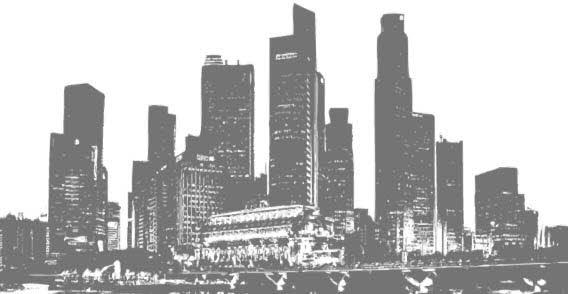 568x294 City Silhouette Vectors Download Free Vector Art Amp Graphics