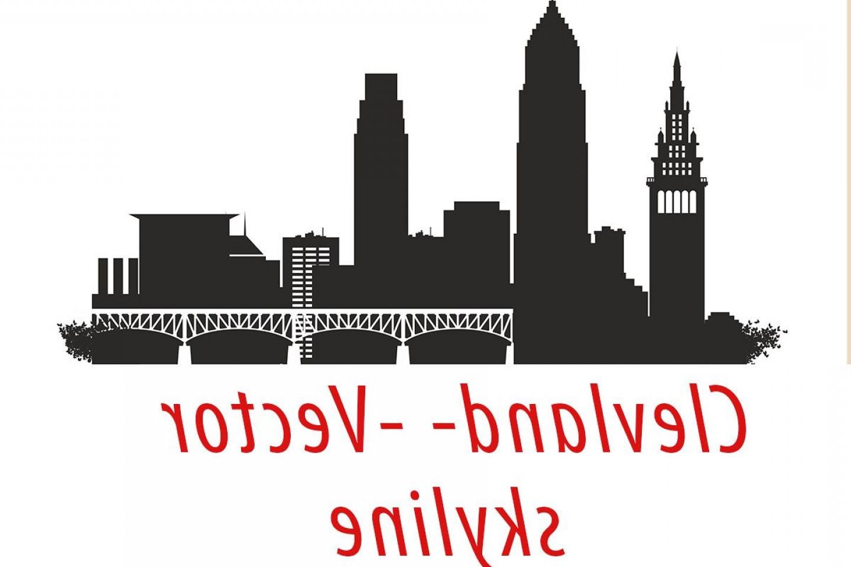 1440x960 Cleveland Vector Ohio Skyline Usa City Svg Jpg Png Dwg Cdr Eps Ai