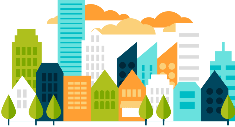 797x430 Collection Of Free Vector City Psd. Download On Ubisafe