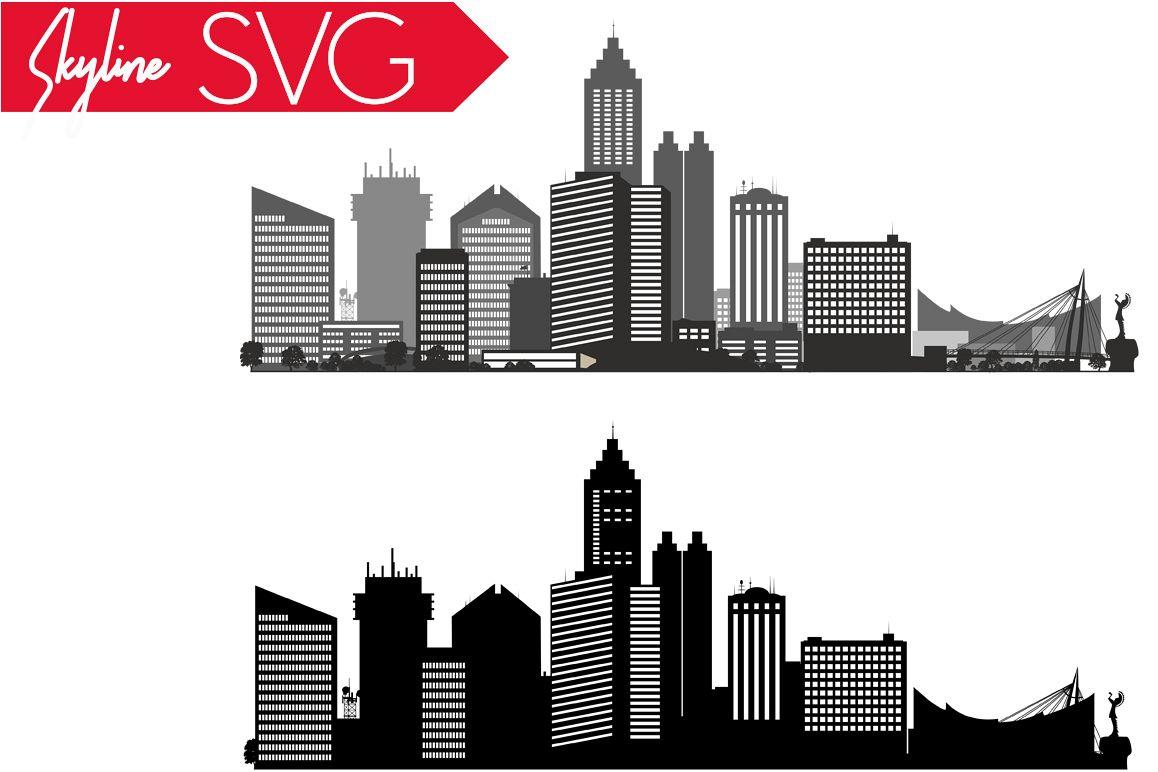 1158x772 Wichita Svg, Kansas Svg, City Vector Skyline, Silhouette Usa City