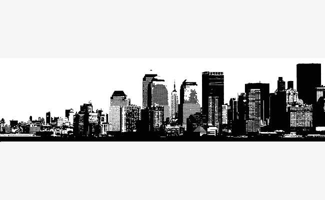 650x400 City Building Vector Material, City Vector, Building Vector, City