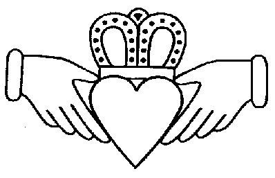398x257 Claddagh Clip Art Getting This When Married Heart Love Hands