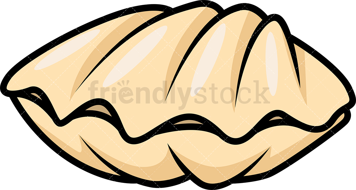 1194x639 Clam Shell Cartoon Clipart Vector