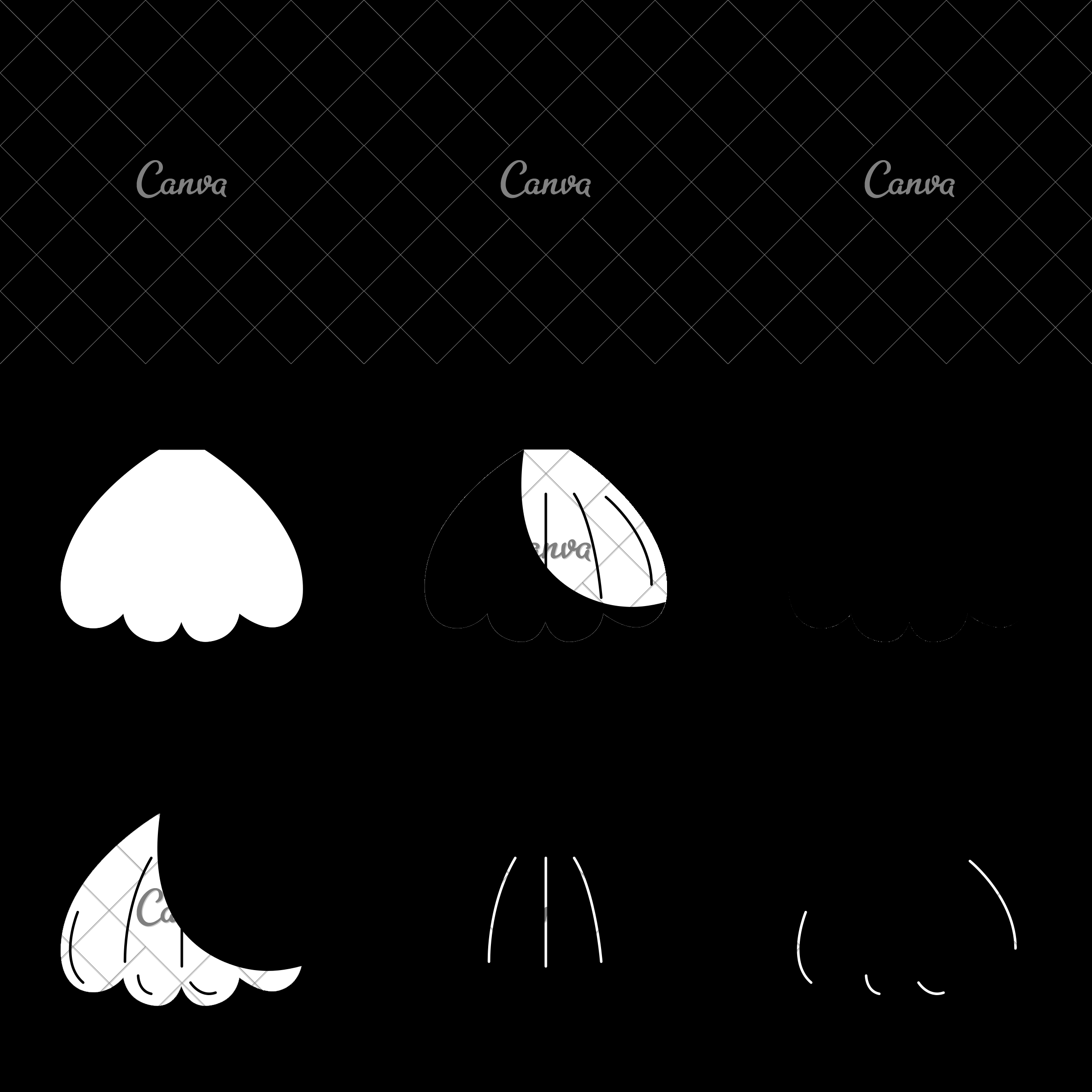 2400x2400 Vector Clam Shell Icon