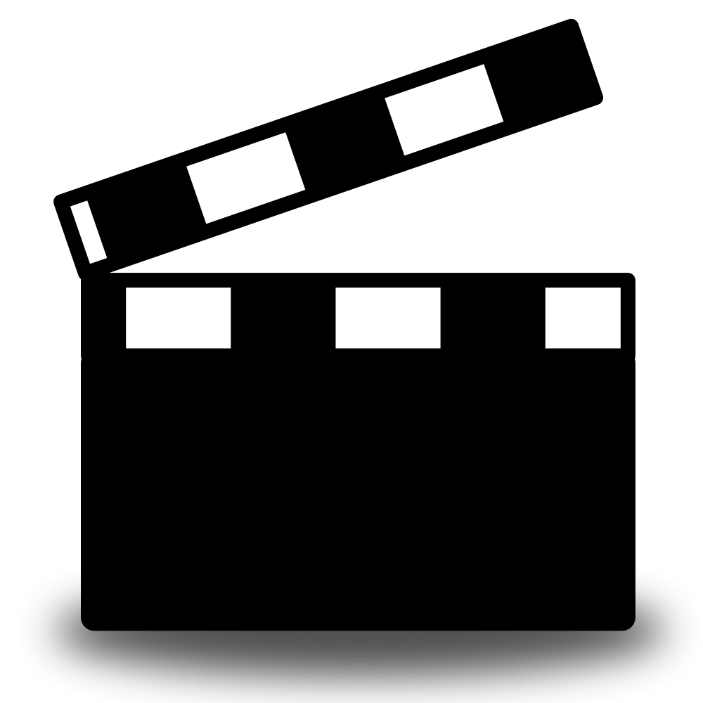 1000x1000 19 Film Clip Clapboard Huge Freebie! Download For Powerpoint