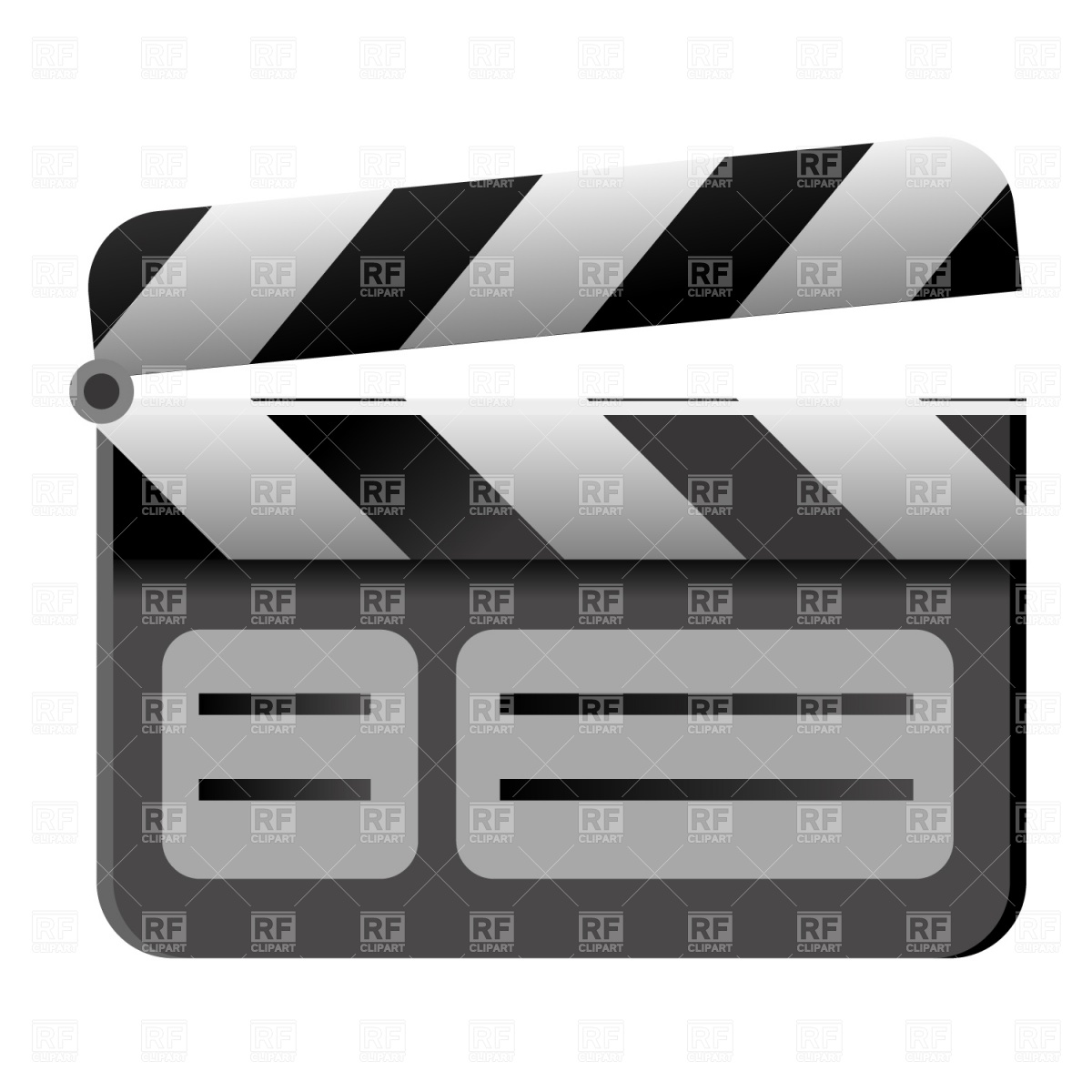 1200x1200 Clapboard Icon Vector Image Vector Artwork Of Icons And Emblems