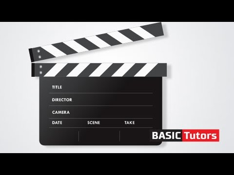 480x360 Creating Movie Clapper Board Vector Drawing