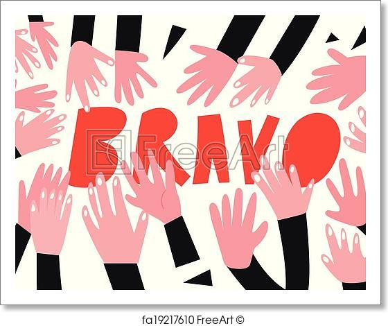 560x470 Free Art Print Of Clapping Hands,applause