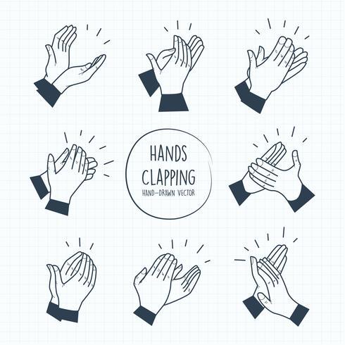 490x490 Hands Clapping Vectors