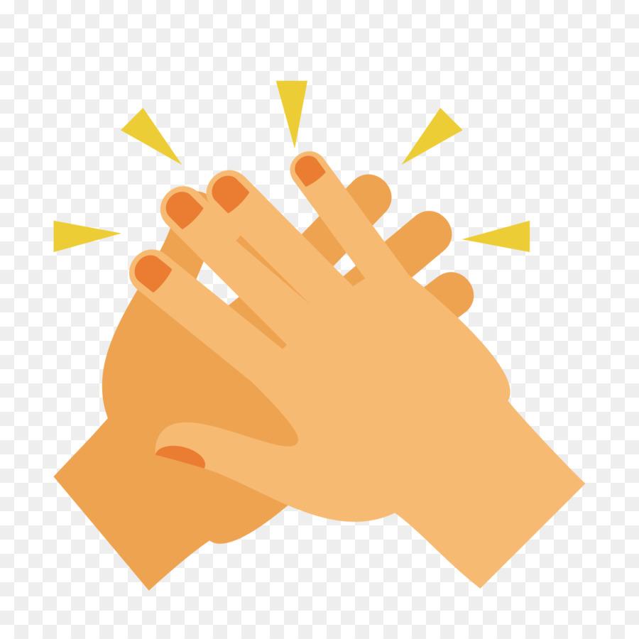 900x900 Clapping Hand Clip Art