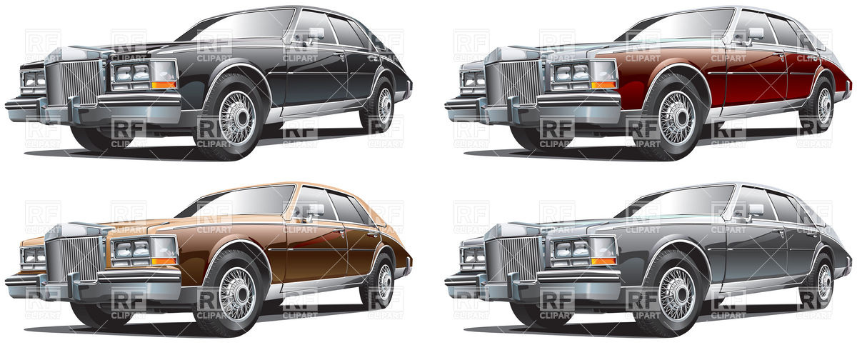 1200x483 Vintage Luxurious Car Vector Image Vector Artwork Of