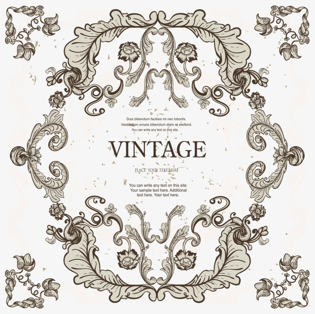 650x648 Gray Classic Lace Vector, Lace Vector, Frame, Lines Png And Vector