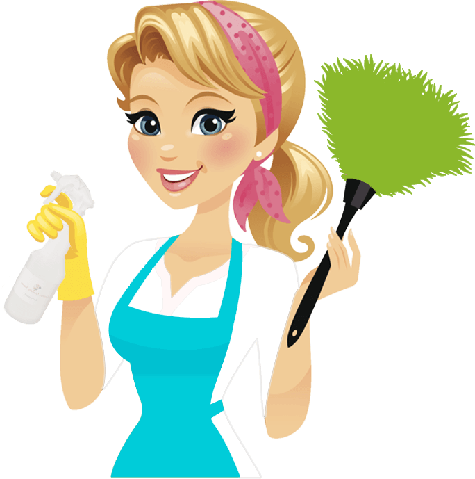 Cleaning Lady Vector