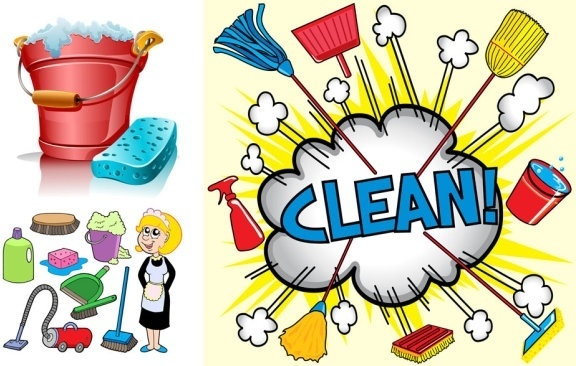 576x366 Cleaning Lady Free Vector Download (2,093 Free Vector) For