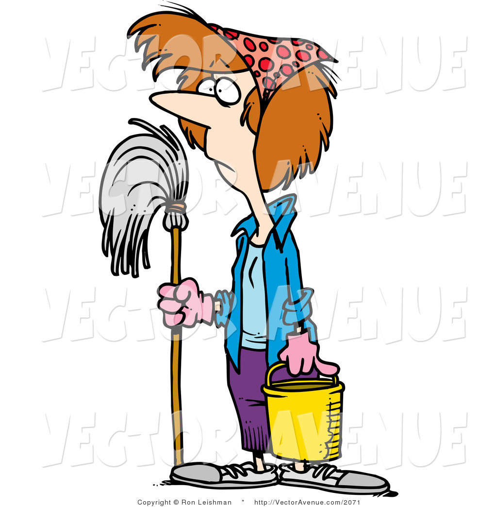 1024x1044 Old Clipart Cleaning Lady