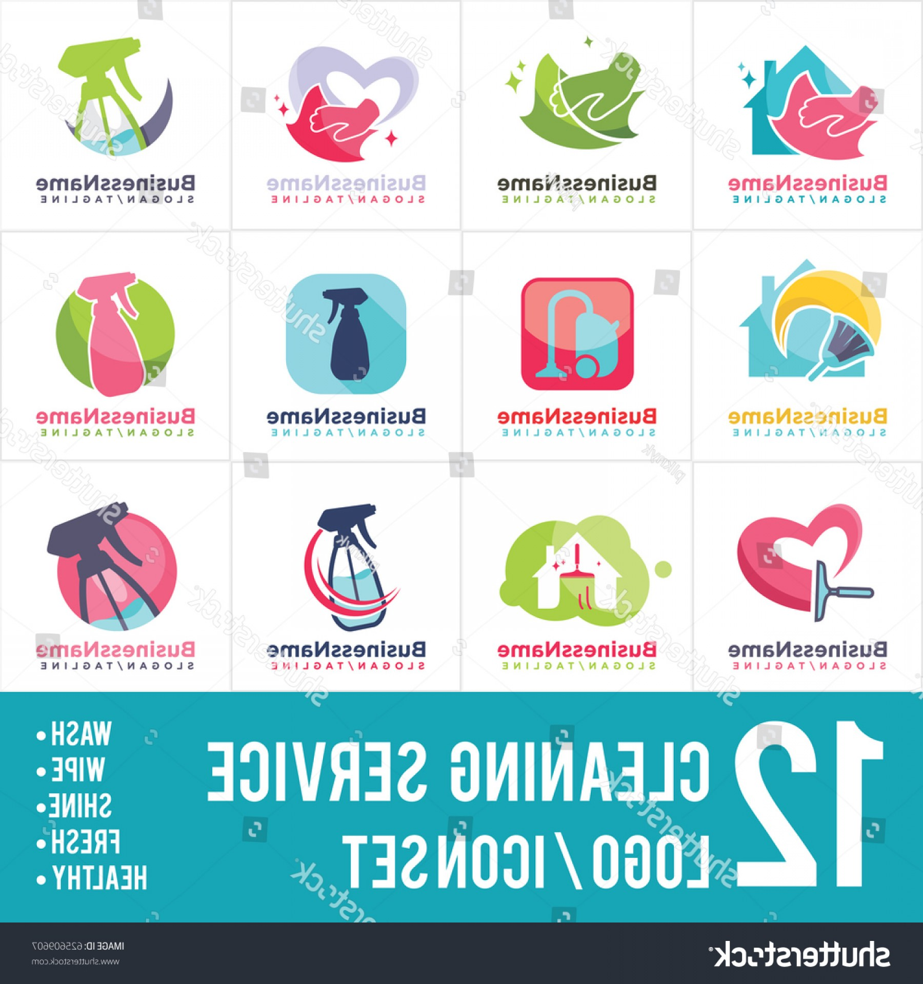 1800x1920 Cleaning Service Logo Vector Icon Orangiausa