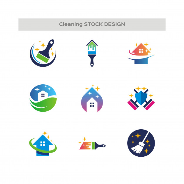 626x626 Cleaning Service Logo Vector Premium Download