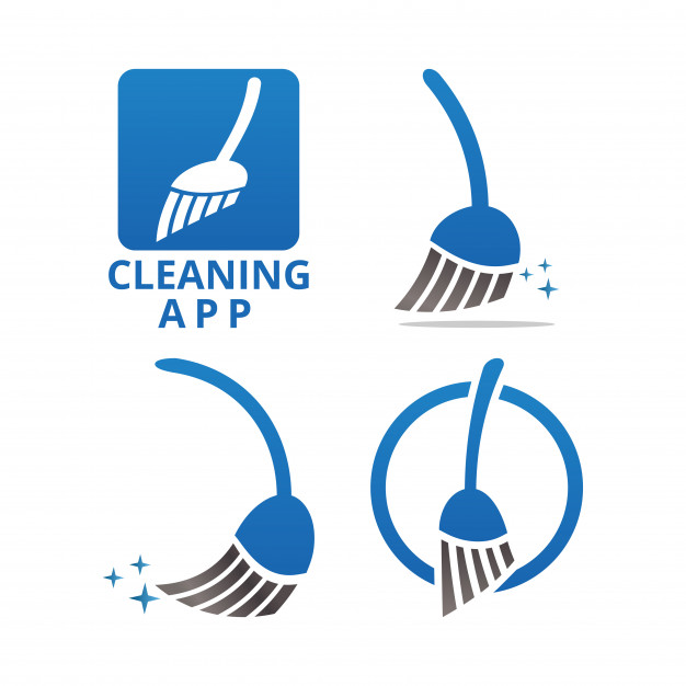626x626 Cleaning Service Logo And Icon Template Vector Premium Download