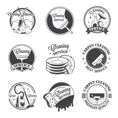 235x235 Cleaning Service Logo Professional Creative