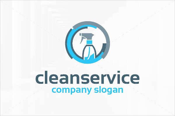 600x399 45 Company Logo Design Design Trends Premium Psd, House Cleaning