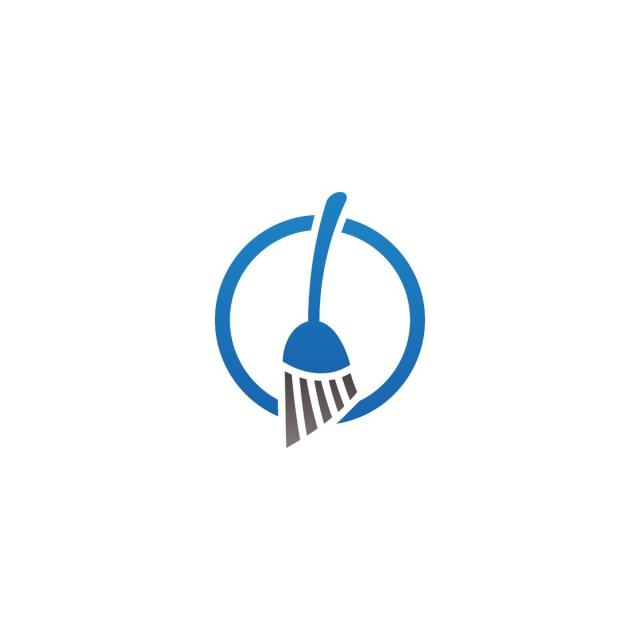 640x640 Cleaning Service Logo And Icon Template, Logo, Vector, Service Png