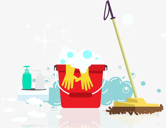650x500 Summer Cleaning, Summer Vector, Vector Material, Cleaning Up Png
