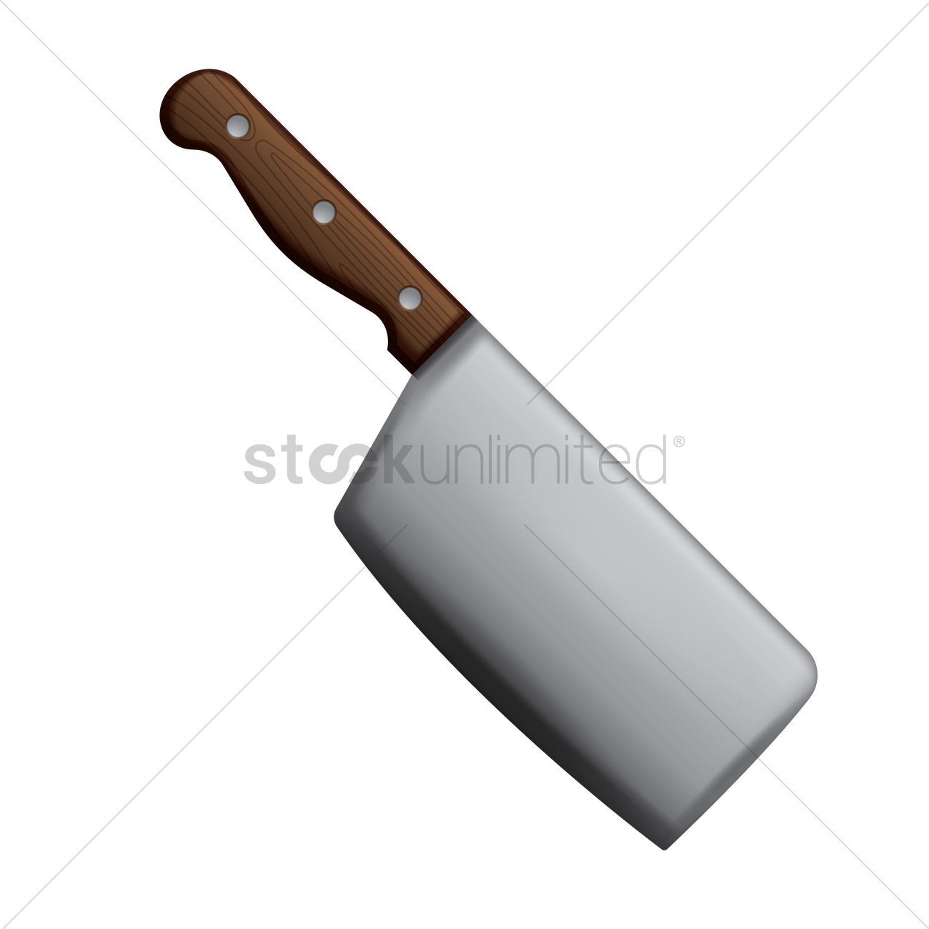 1300x1300 Cleaver Vector Image