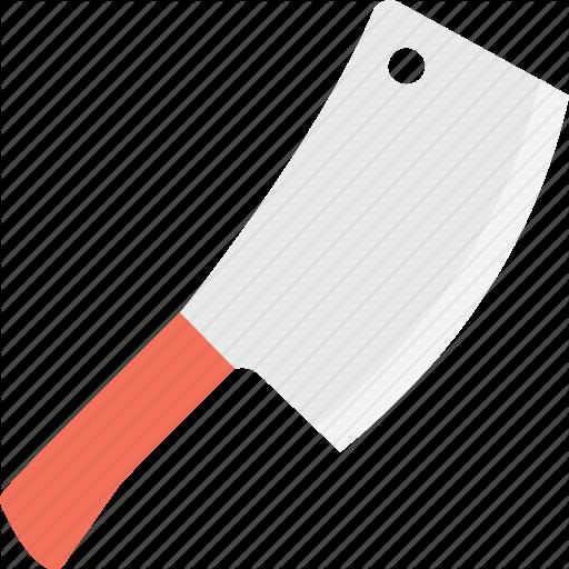 512x512 Cleaver Vector Butcher Knife ~ Frames ~ Illustrations ~ Hd Images