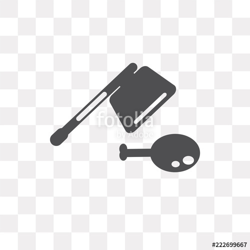 500x500 Cleaver Vector Icon Isolated On Transparent Background, Cleaver