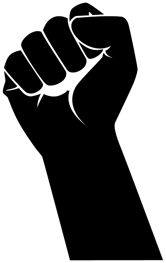Clenched Fist Vector