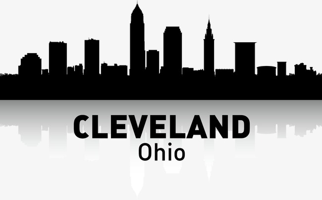 650x403 Cleveland, City Silhouette, City, City Png And Vector For Free