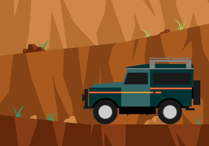 700x490 Road To The Top Of The Cliff Vector