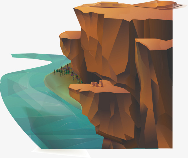 650x548 Vector Cliff, Cliff, Alpine, Decoration Png And Vector For Free