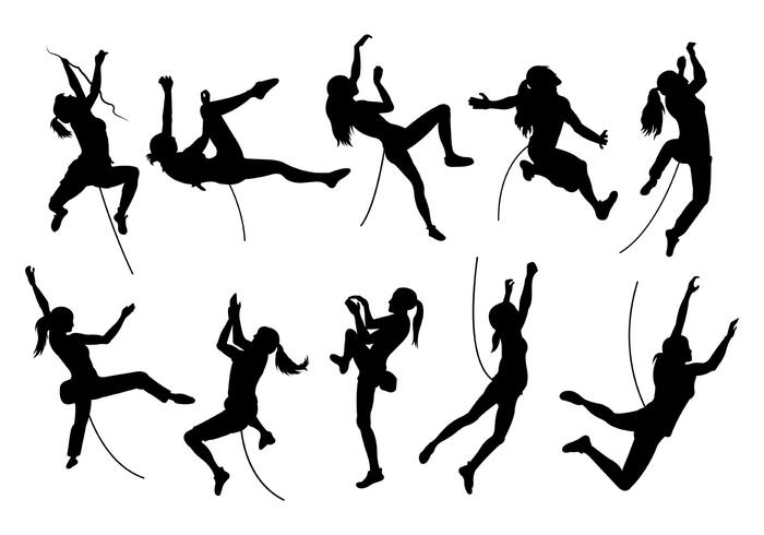 700x490 Silhouette Image Of Wall Climbing