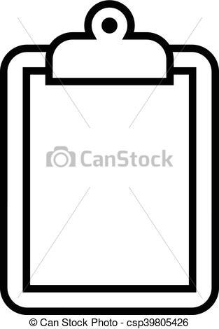 313x470 Clipboard Vector Icon.