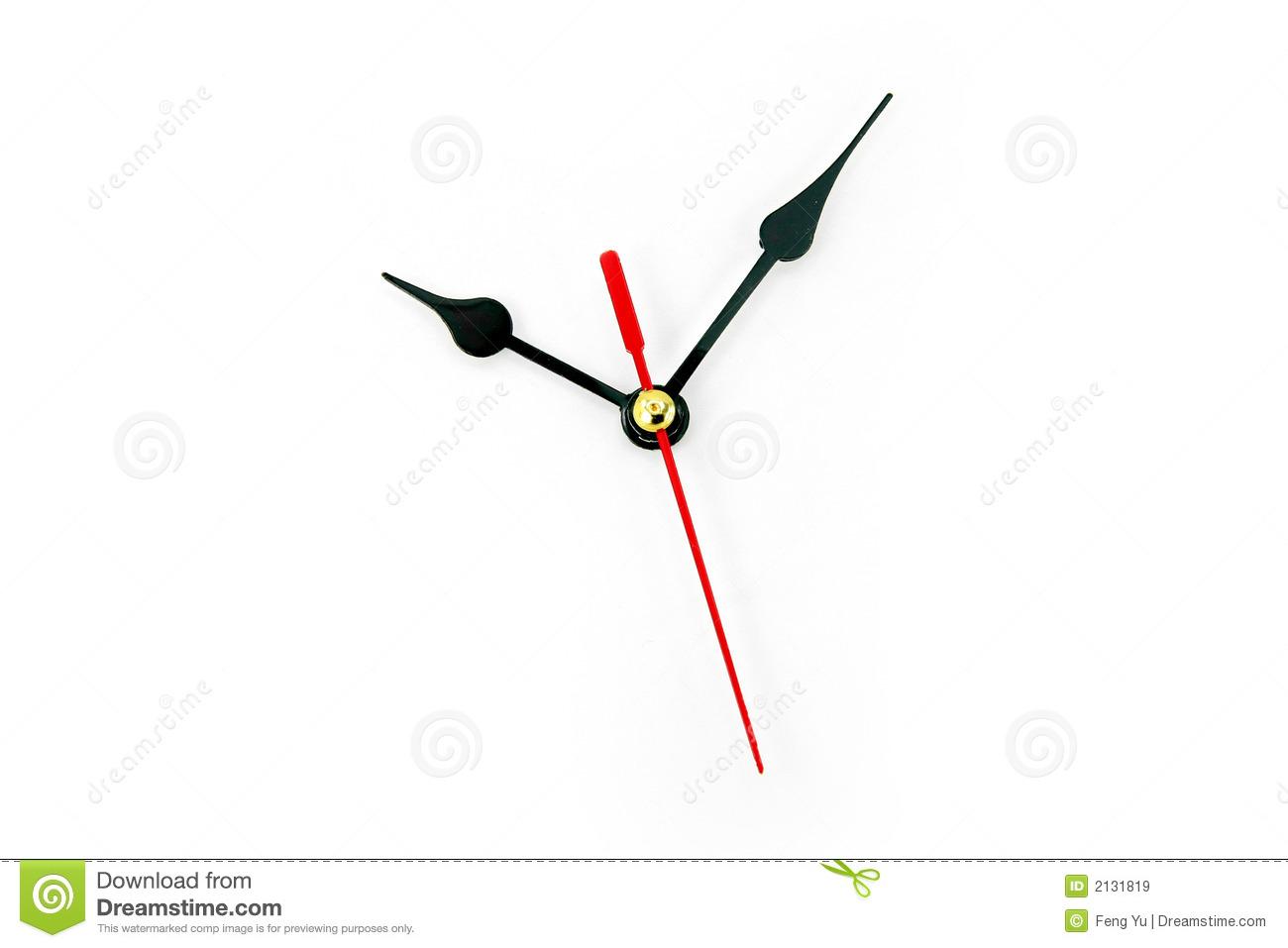 1300x957 Clock Hands Vector