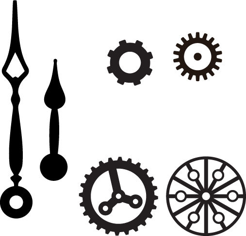 507x488 Making Retrotech A Steampunk Clock Gear Font 8 Steps (With
