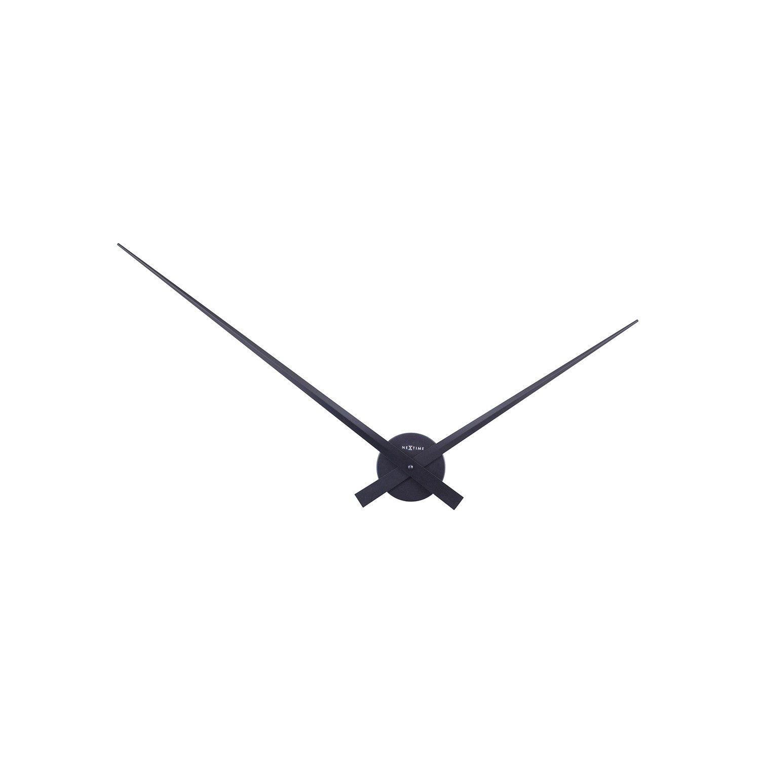 1500x1500 Only Wall Clock Black Hands