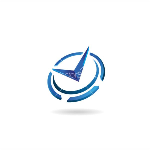 Clock Logo Vector