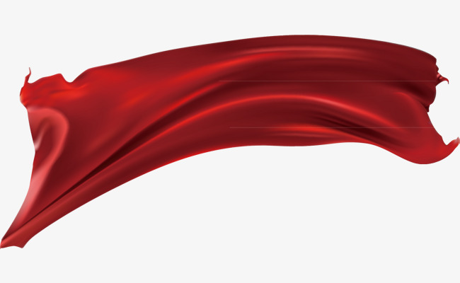 650x400 Red Silk Material Picture, Vector Red Silk, Red Cloth, Vector Png