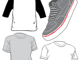 270x200 Free Clothes Vector Graphics