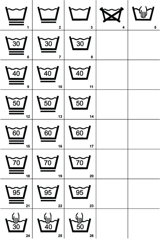 534x799 Download Washing Symbols For Clothing Labels Signs Amp Symbols