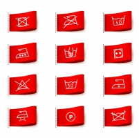 201x200 Clothing Care Symbols Free Vector Graphic Art Free Download (Found