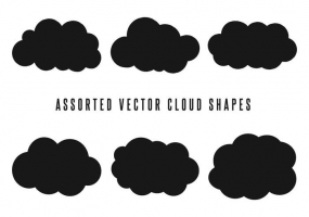 285x200 Cloud Shape Free Vector Graphic Art Free Download (Found 19,158